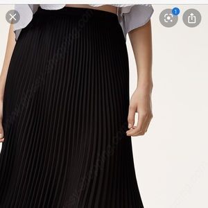 Aritizia Accordion Skirt
